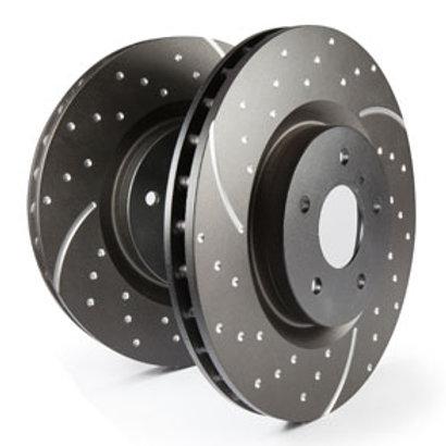EBC GD Pattern Rotors for the  11-12 Taurus SHO | Rear