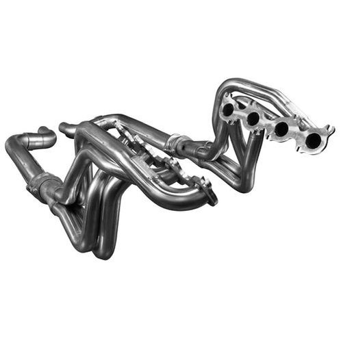 """Kooks 15-17 Mustang 5.0L 4V 1.75""""x3"""" SS Headers w/ Off Road OE Conn Pipes"""