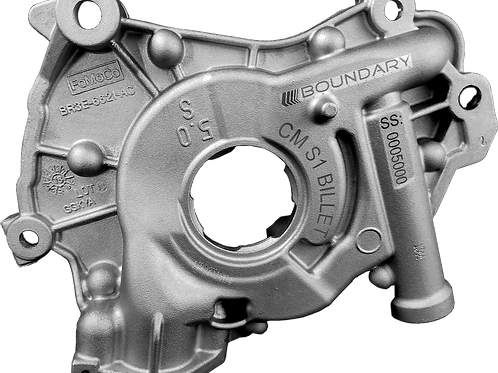 Boundary Assembled Coyote Oil Pump