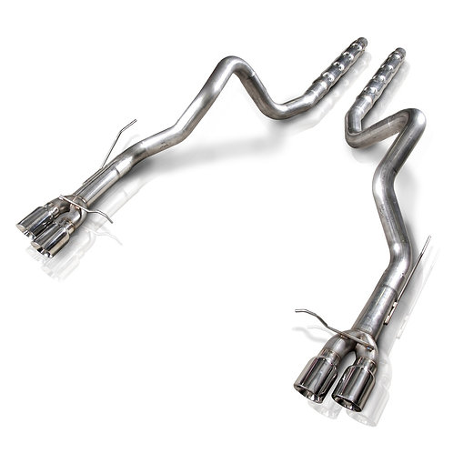 """Stainless Works 13-14 Shelby GT500 3"""" Catback Retro Chambered MFFLR Res"""