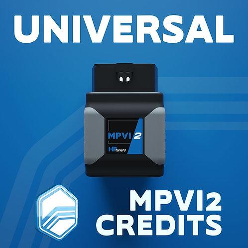 HPTuners Universal Credits