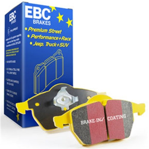 EBC 2013+ Ford Taurus 3.5 Twin Turbo SHO Yellowstuff Front Brake Pads