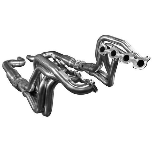 """Kooks 15-17 Mustang 5.0L 4V 1.875""""x3"""" SS Headers w/ Catted OE Conn Pipe"""