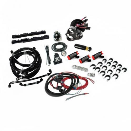 Division X SN95 Triple Pump Return Fuel System | 99-04 Mustang Cobra/GT/Mach 1