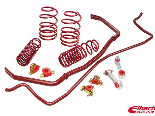 Eibach Sport Plus Kit | 05-09 Mustang Conv/Coupe 6cyl (Front & Rear)