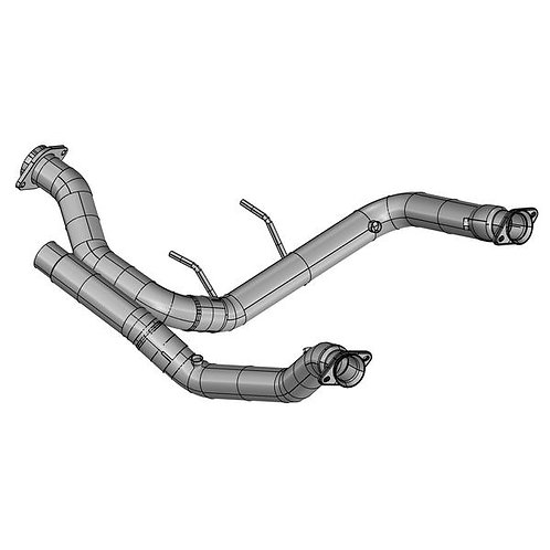 "Kooks 17-19 F150 Raptor EcoBoost 3.5L V6 3"" Stainless Off Road Turbo Down Pipes"