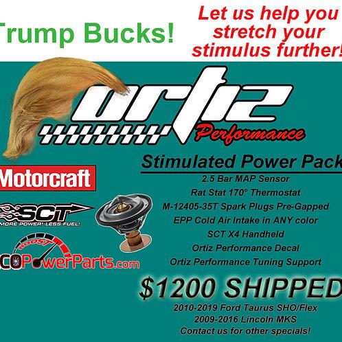 Trump Bucks Power Pack | 2010+ Taurus SHO/Flex/Explorer Sport/MKS