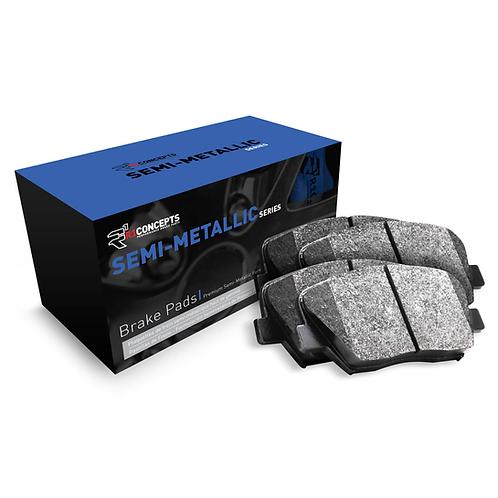 R1Concepts Semi Metallic Series Brake Pads   2010-2012 Taurus SHO REAR