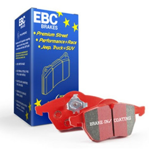 EBC 2013+ Ford Taurus 3.5 Twin Turbo SHO Redstuff Rear Brake Pads