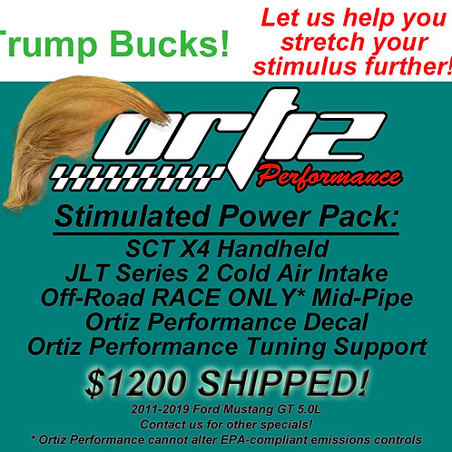 Trump Bucks Power Pack for 2011-2020 Ford Mustang GT 5.0L