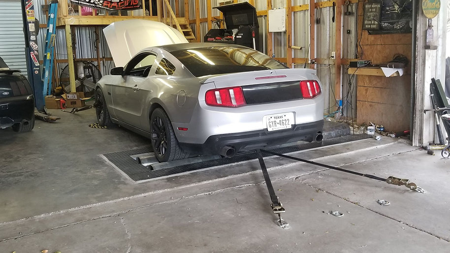 In-House Dyno tuning