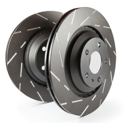 EBC USR Slotted Rotors for the  13-19 Taurus SHO | Front