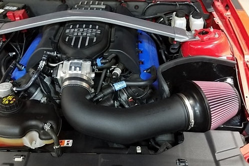 JLT 11-14 Mustang GT Series 2 Blk Textured CAI Kit | Red Filter | Tune Req