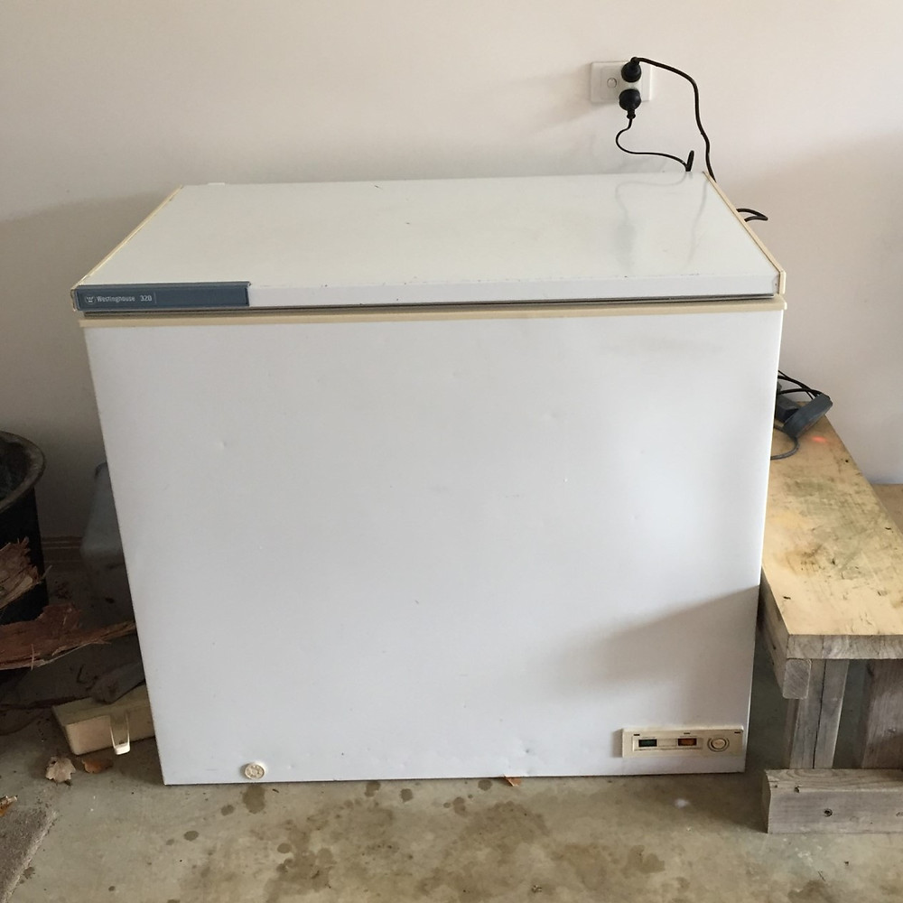 my completed chest freezer cold plunge