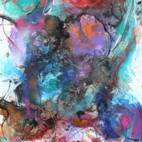 California. 30x60 oil on canvas