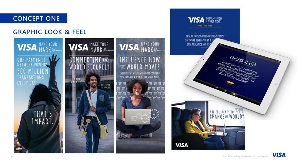 VISA U Recruitment campaign
