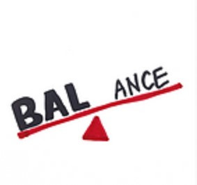 """an image that demonstrates the meaning behind """"balance"""", the principle design."""