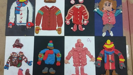 Teacher Guide: 8 Winter Holiday Themed Art Project Ideas for Grades 4 - 8