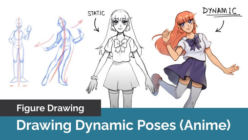 How To Draw Dynamic Anime Poses