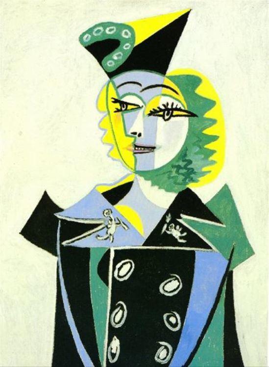 Portrait de Nusch Èluard by Pablo Picasso