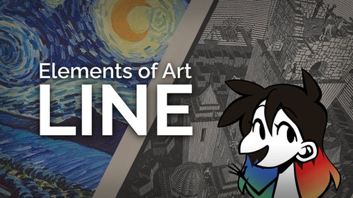 The Elements of Art - Line