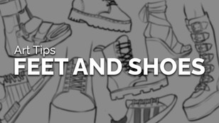How to Draw Feet & Shoes - Art Tips for Foot Anatomy