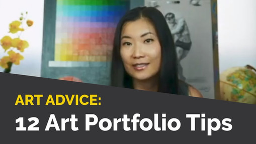 12 Tips on Building a Winning Art Portfolio
