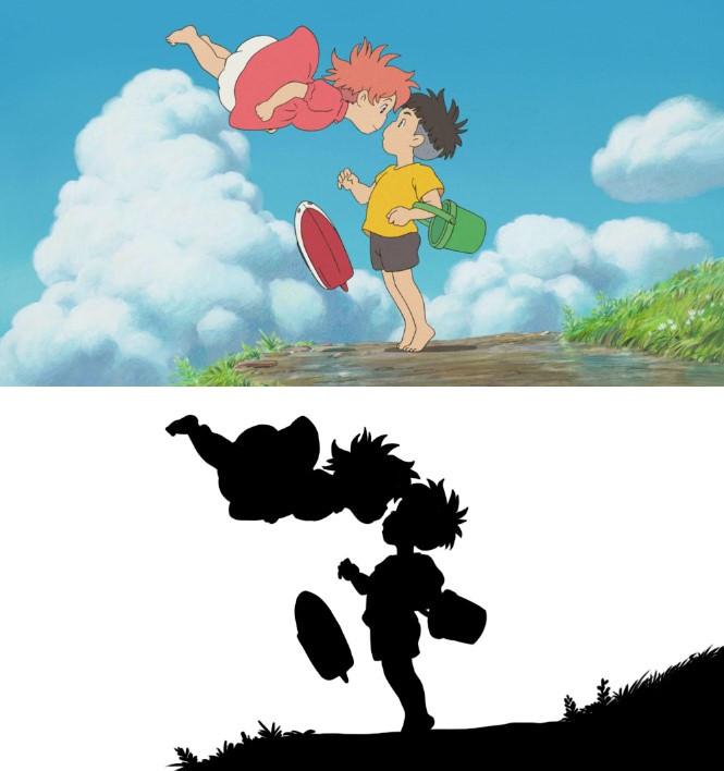A screenshot from Studio Ghibli's Ponyo