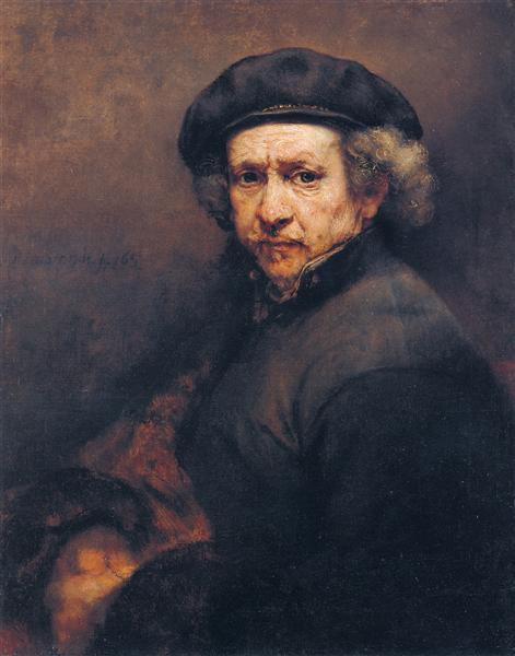 Self Portrait by Rembrandt (1659)