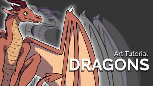 How to Draw a Dragon - Step by Step Art Tutorial