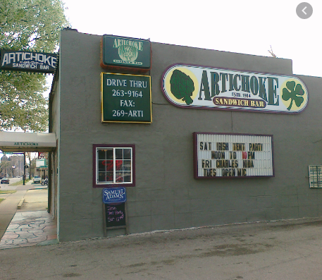 Artichoke Sandwich Bar