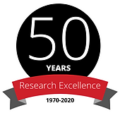 50 Years of Research Excellence logo LAR