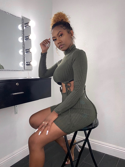 Olive You Dress