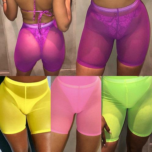 31 Flavors Biker Shorts