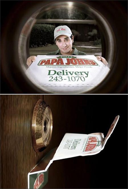 Креативная реклама доставки