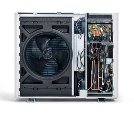 The inside of the aroTHERM plus