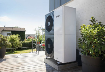 Vaillant Double Stack Air Source Heat Pump