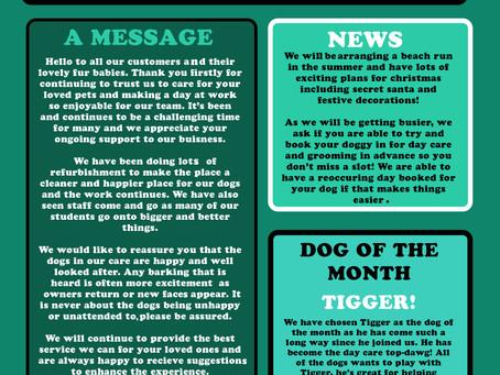 Barking Lot News Letter OCT 2020