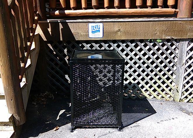 Bear Proof Trash Bins - Single Can