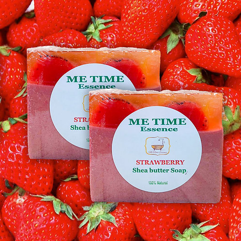 Strawberry Shea Butter Soap