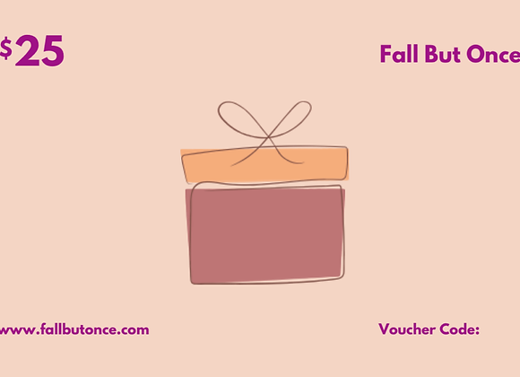 Fall But Once Gift Card