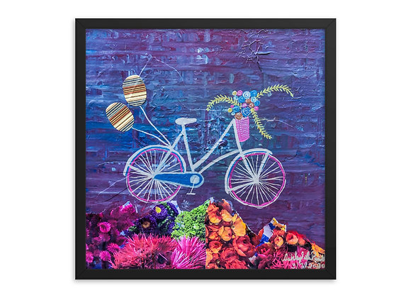 Bicycle Framed Poster Print