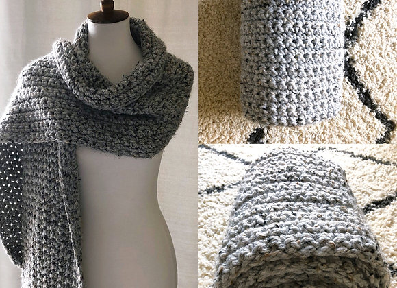 Super Bulky Crochet Shawl