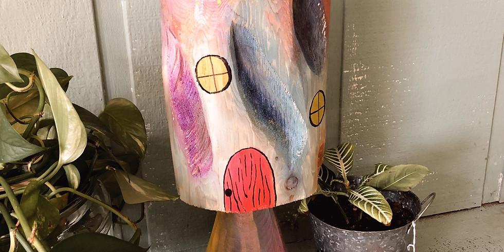 Kids Mushroom Painting