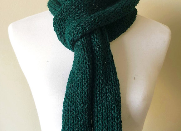 Knit Scarf in Green