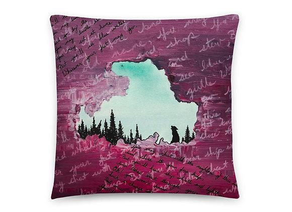 Drummond Island Throw Pillow
