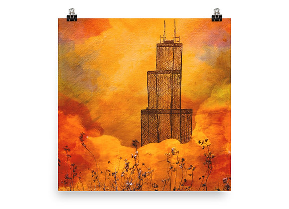 Willis/Sears Tower Poster