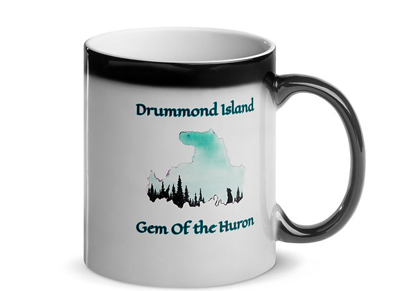 Drummond Island, Gem of the Huron Glossy Magic Mug