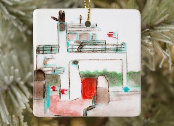 Drummond Island Ferry Boat Ornament
