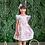 Thumbnail: Ruffle Floral Dress, Size 8T